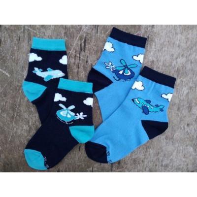 Dětské ponožky LETADLO