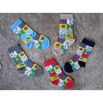 Kojenecké barevné ponožky XILIK