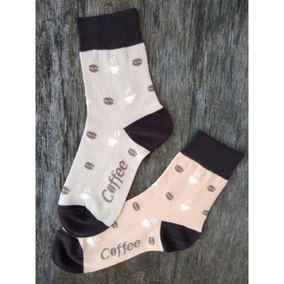Dámské ponožky KÁVA
