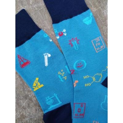 Vzorované ponožky CHEMIK