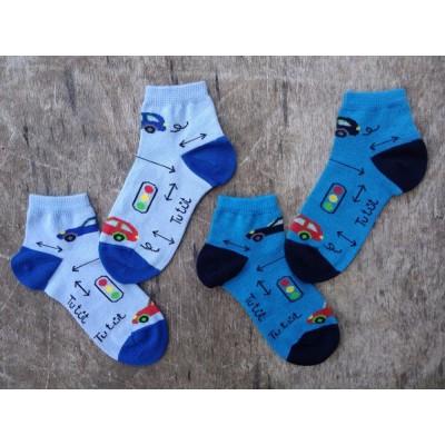 Kotníčkové ponožky AUTÍČKO
