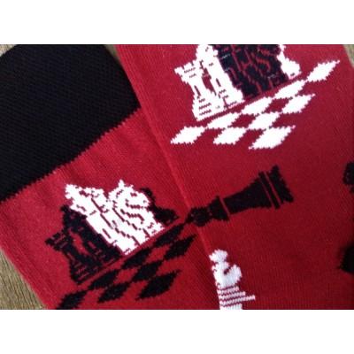 Dámské ponožky ŠACHY