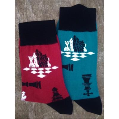 Pánské ponožky ŠACHY