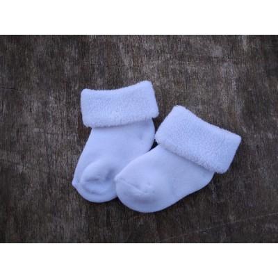 Kojenecké ponožkly BĚLKA