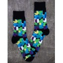 Pánské vzorované ponožky POINT