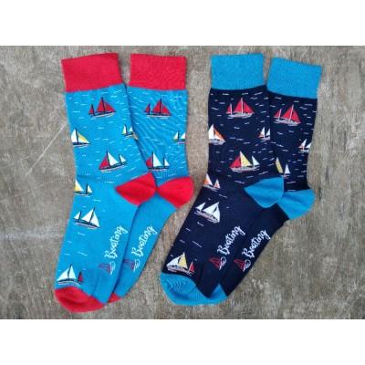 Vzorované ponožky PLACHETNICE