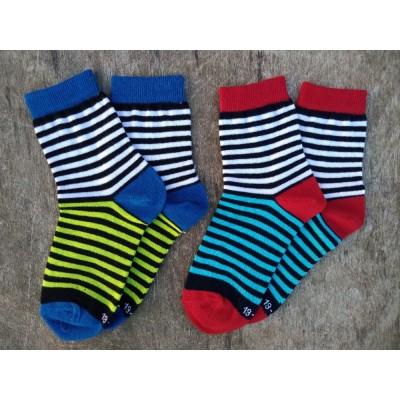 Dětské pruhované ponožky SMART