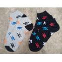 Pánské nízké ponožky REBEL