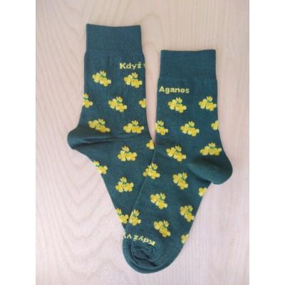 Bavlněné ponožky AGANOS
