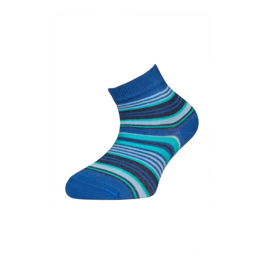 5e187927534 Dětské kotníčkové pruhované ponožky.