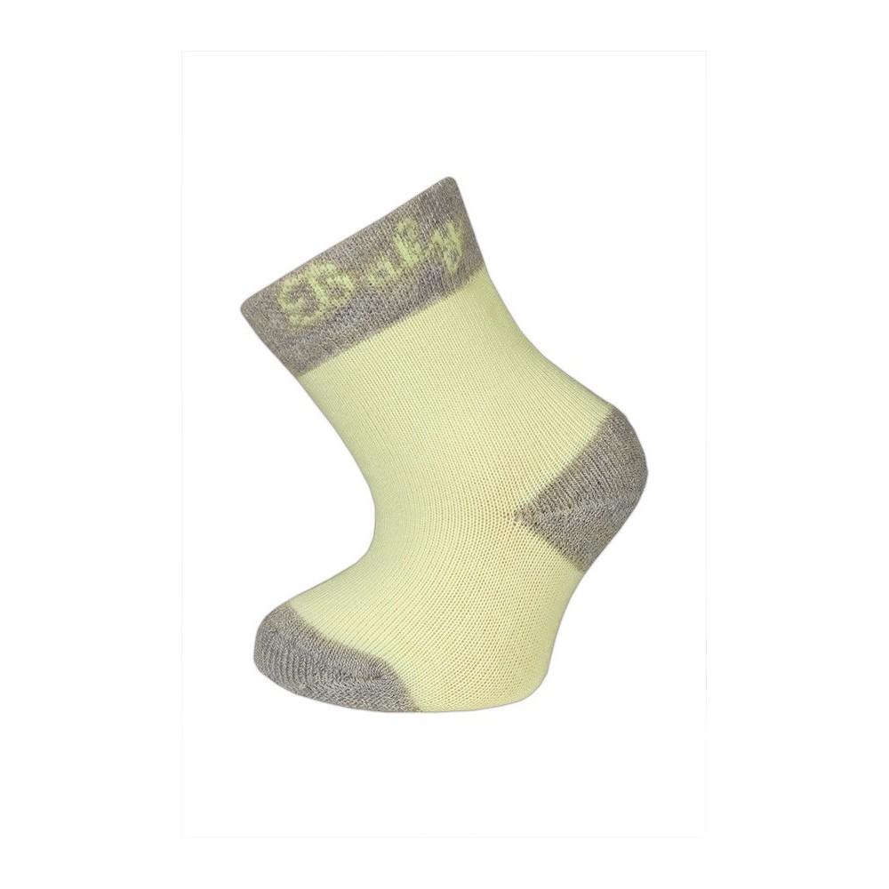 64a0cb3a2c9 Kojenecké a dětské ponožky s plyšovou špicí a patou.