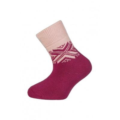 Dětské teplé ponožky SNĚHULKA