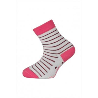 Dětské proužkované ponožky PRINCEZNA