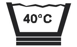 Prací symbol 40 C