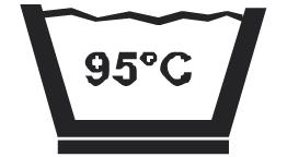 Prací symbol 95 C